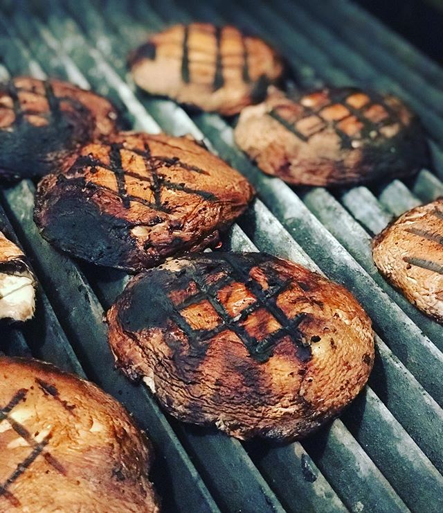 Chargrilled soy and ginger marinated portobello mushrooms! Just one of the little surprises we have for Taco Tuesday!!! #empirevillageinn #tacotuesday #vegitariantaco #tacos #tuesdaysinempire #thesunisout