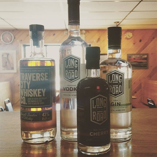 Local Spirits! Now featuring @longroadgr and @traversecitywhiskeyco