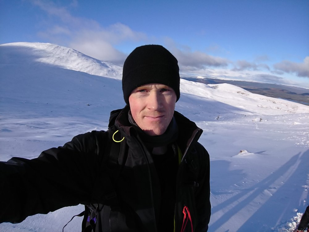 Lovely winter conditions in Cairngorms National Park