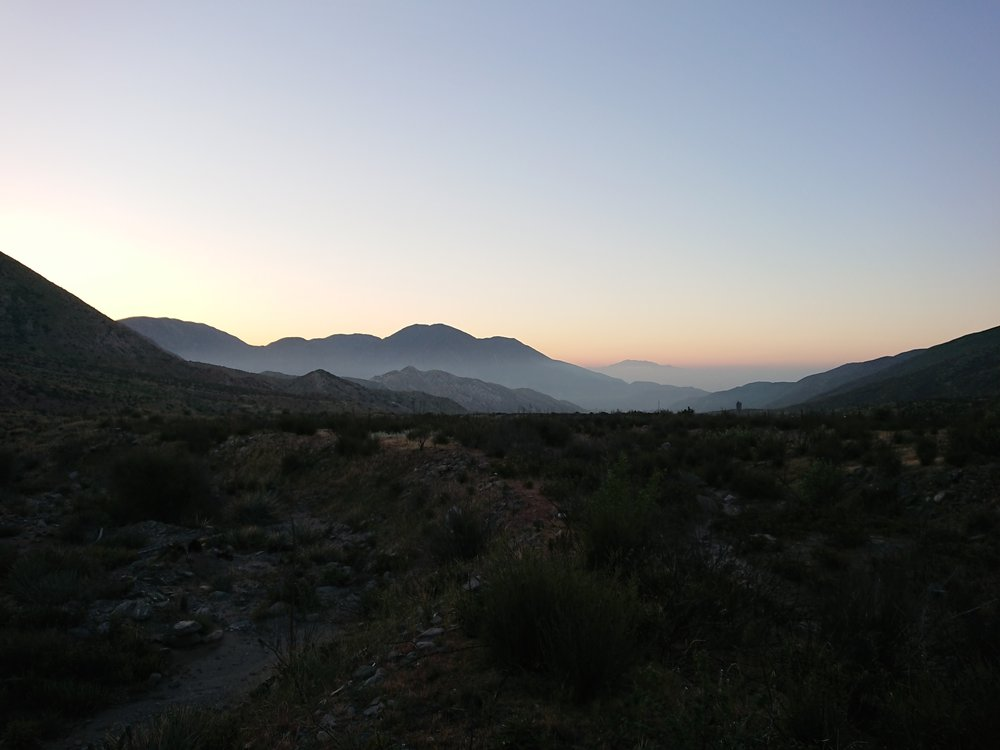Early morning is like prime time for hiking both because of the the temperature and the sunrises