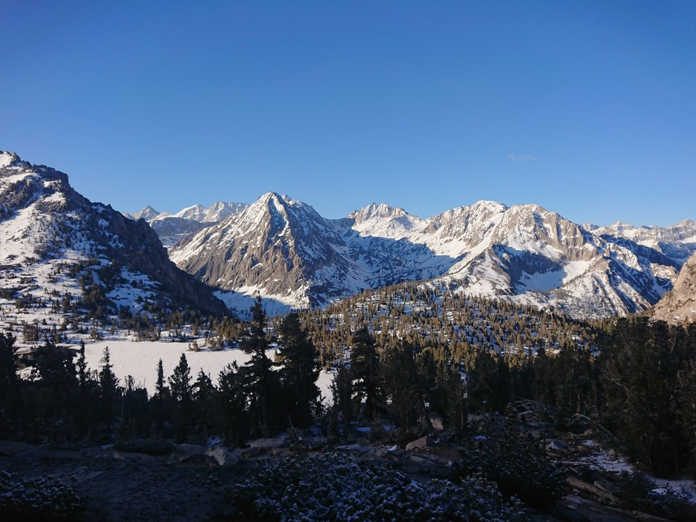 The Kearsarge Pass trail had some amazing views which easily made it worth doing