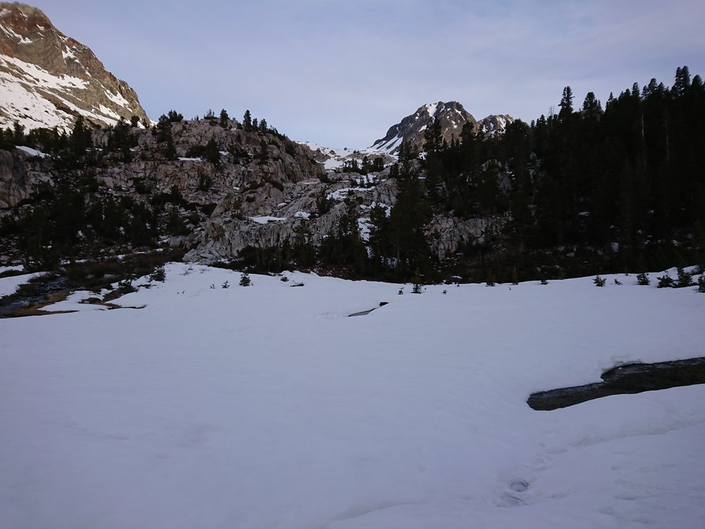We quickly started seeing a lot more snow as we progressed towards the pass