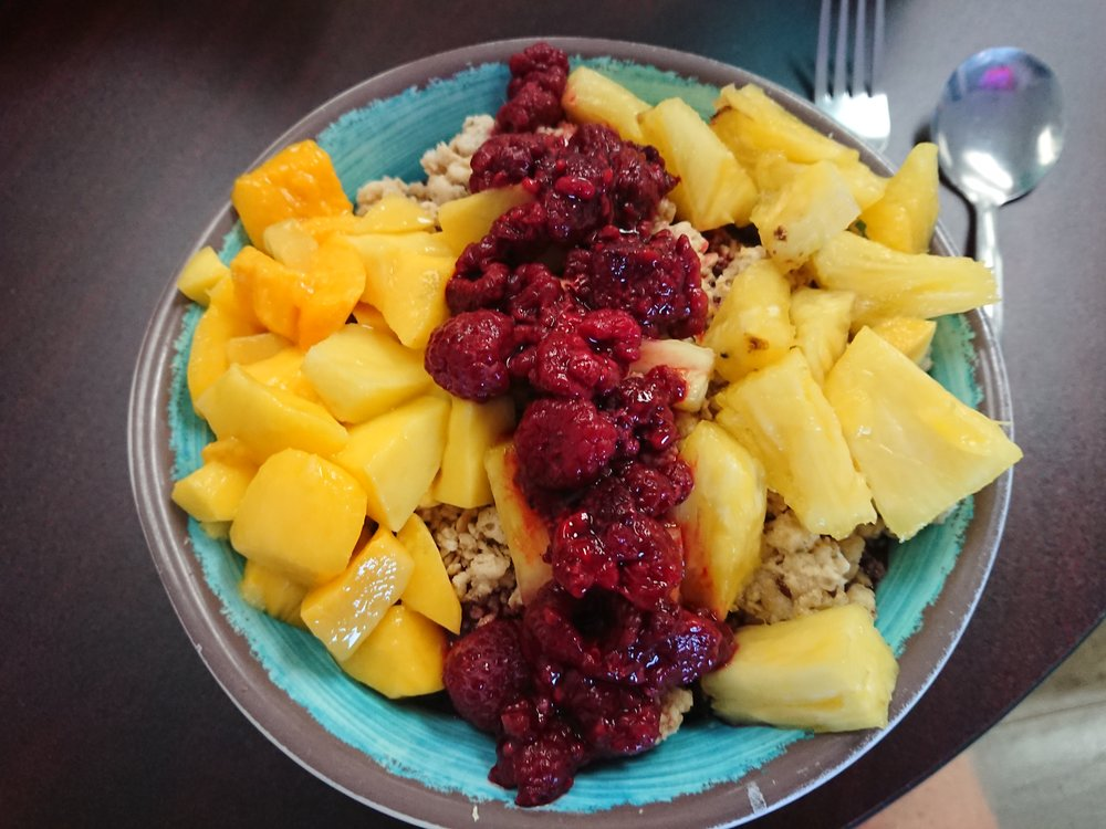 Excellent Acai Bowl that I had in Mammoth Lakes