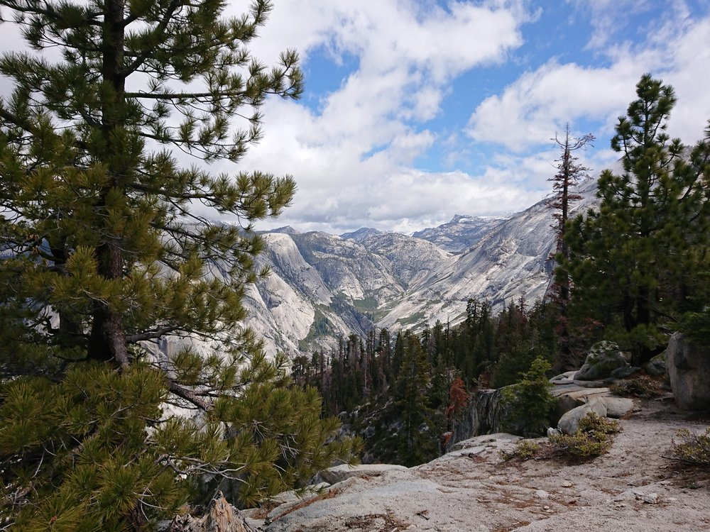 So many impressive views as we got closer to the Half Dome junction