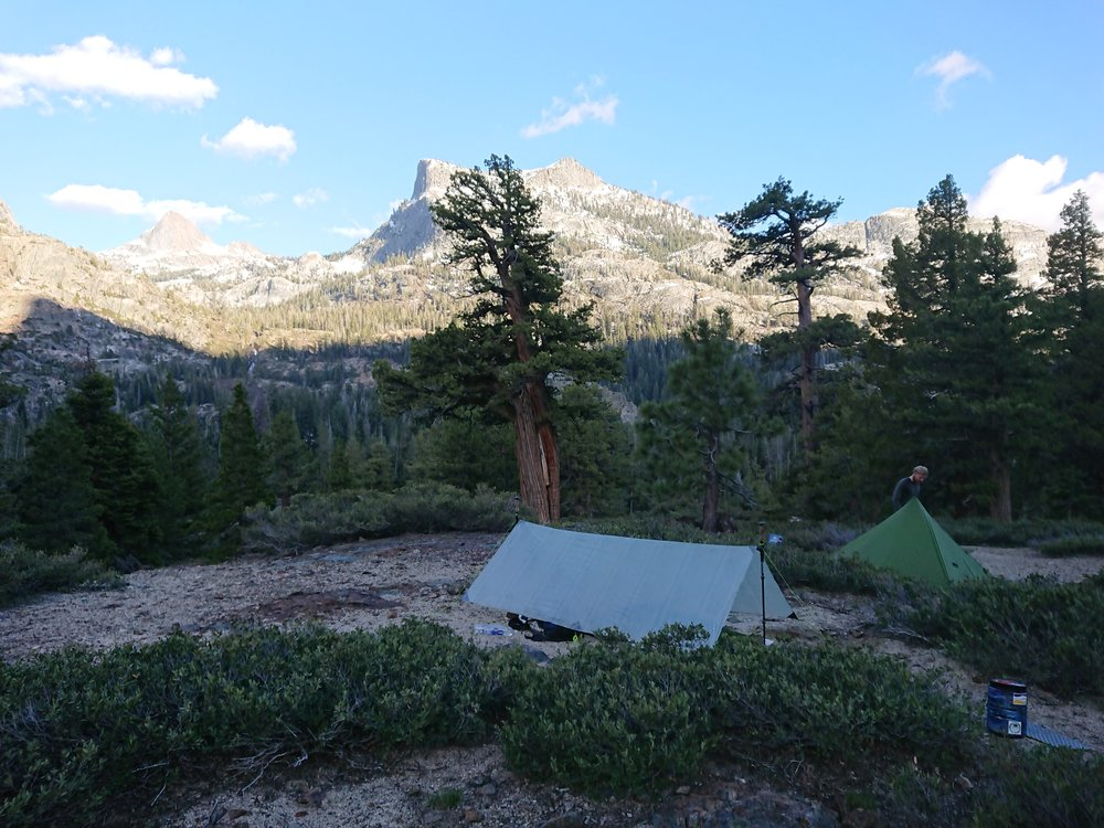 Camp with a decent view
