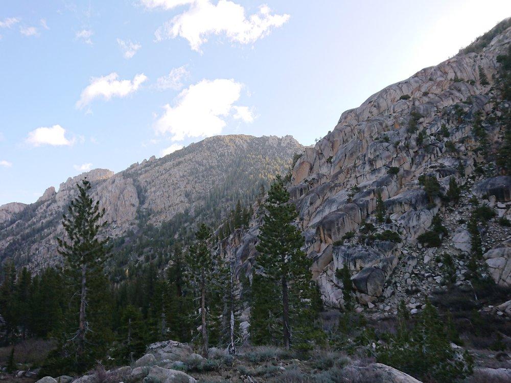 Still impressive mountains everywhere