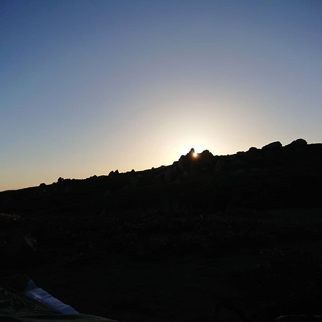 I have witnessed so many beautiful sunrises and sunsets on the trail. This sunset is a seen from my sleeping bag.  #pct #pct2018 #hiking #thruhike #thruhiking #thruhiker #backpacking #trekthepct #wehike #mexicotocanada #nature #liveoutdoors #pacificcresttrail