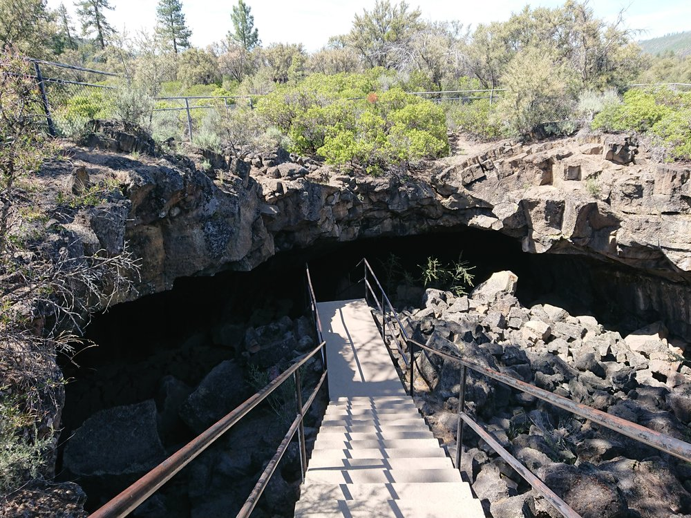 The entrance to Subway Cave