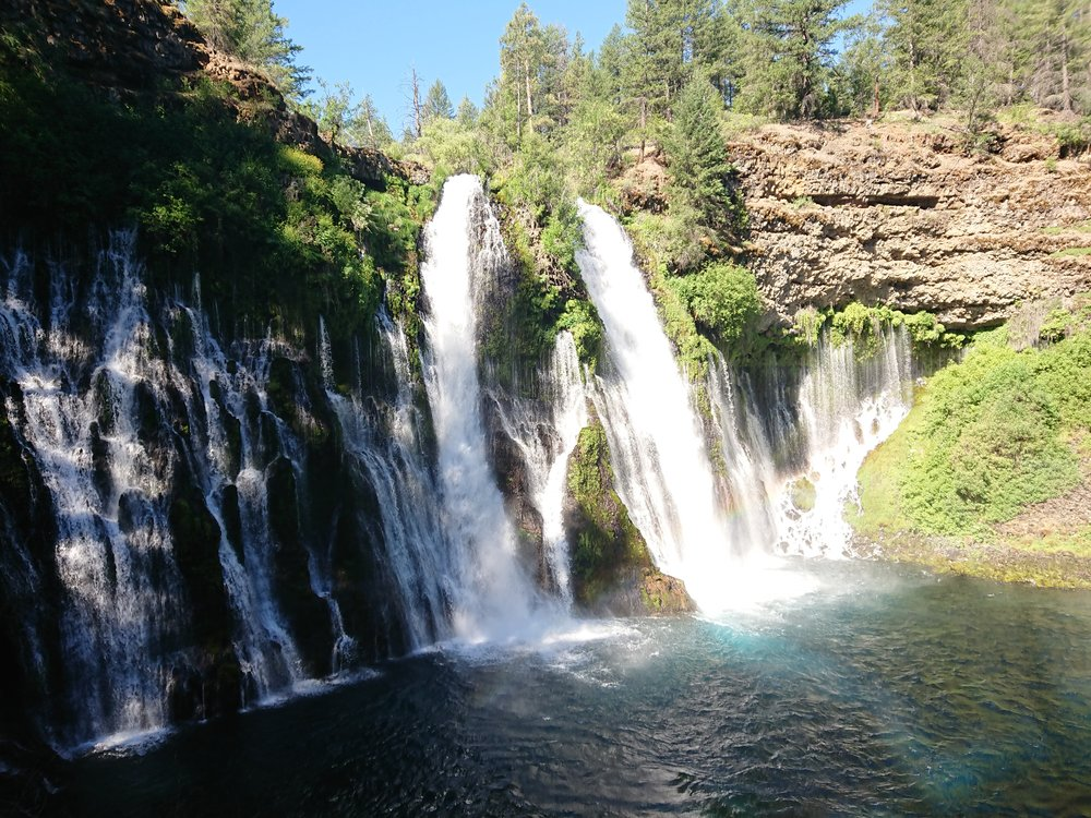 Burney Falls was really impressive