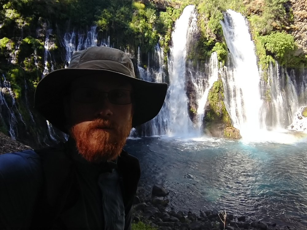 I had to get a selfie in front of the falls as well