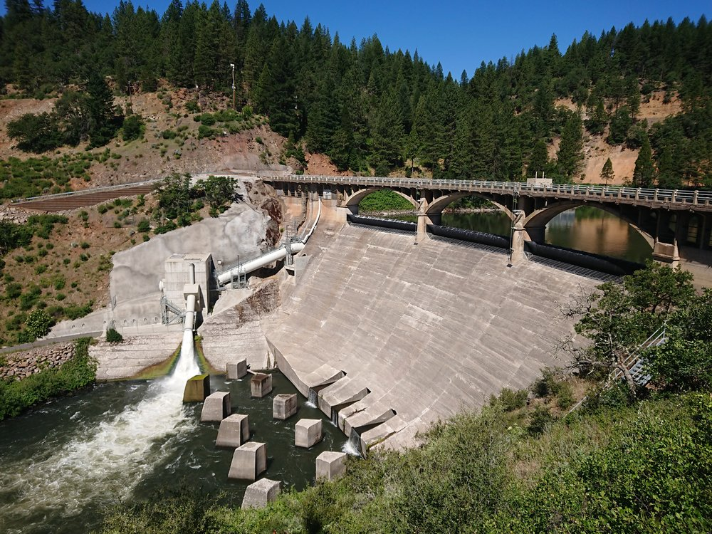 Lake Britton Dam