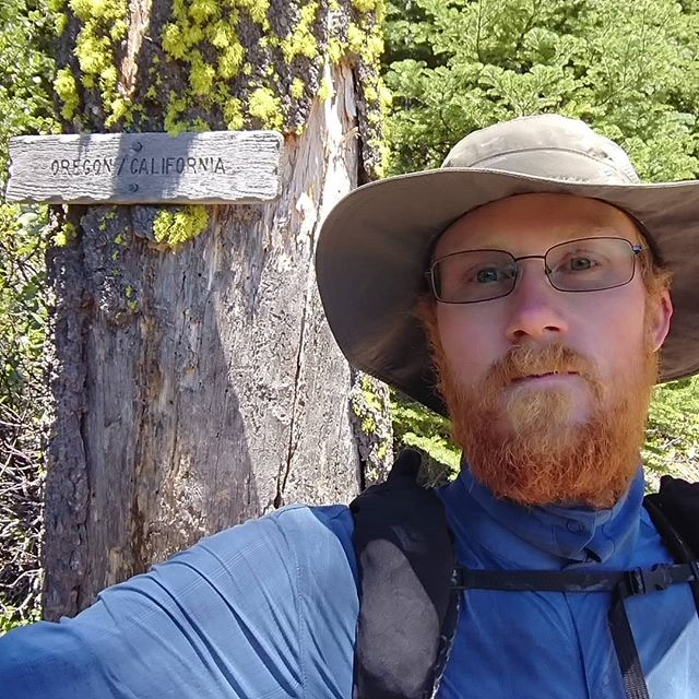 I managed to reach Oregon. California is quite big.  #pct #pct2018 #hiking #thruhike #thruhiking #thruhiker #backpacking #trekthepct #wehike #mexicotocanada #nature #liveoutdoors #pacificcresttrail