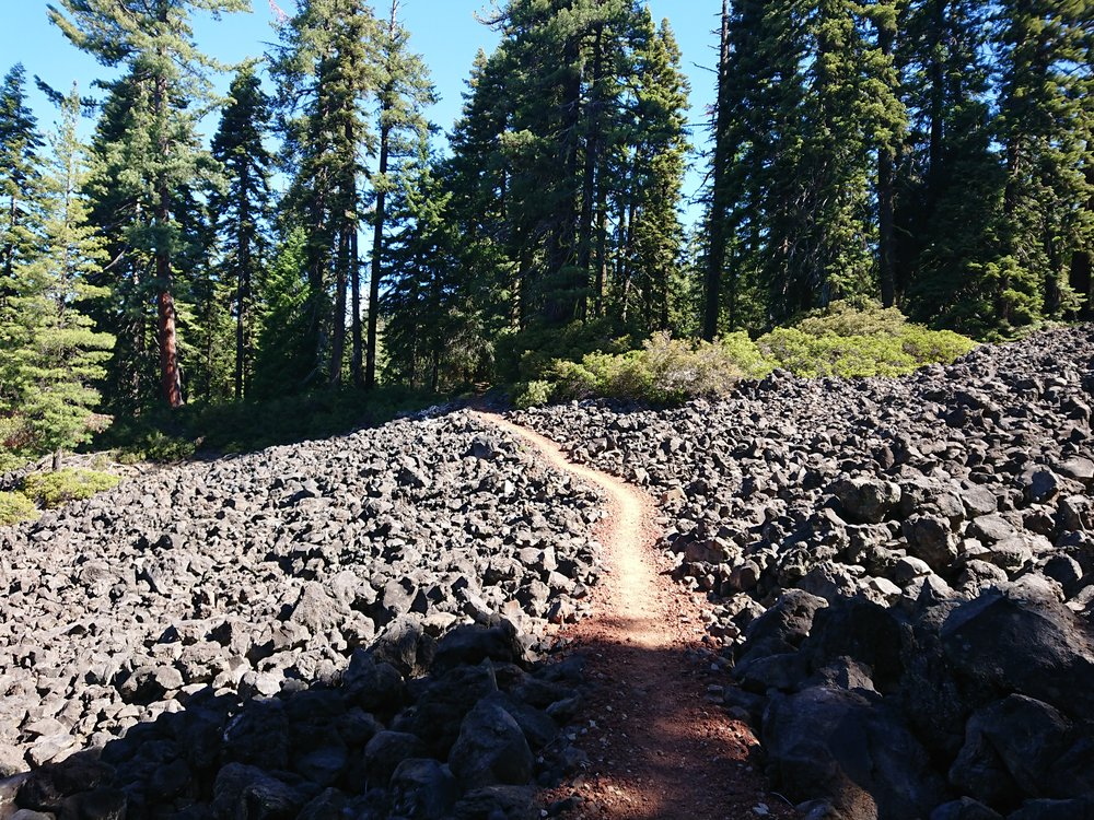 Some of the first lava fields in Oregon