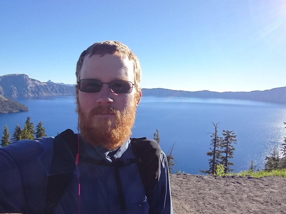 The very obvious selfie had to take at Crater Lake