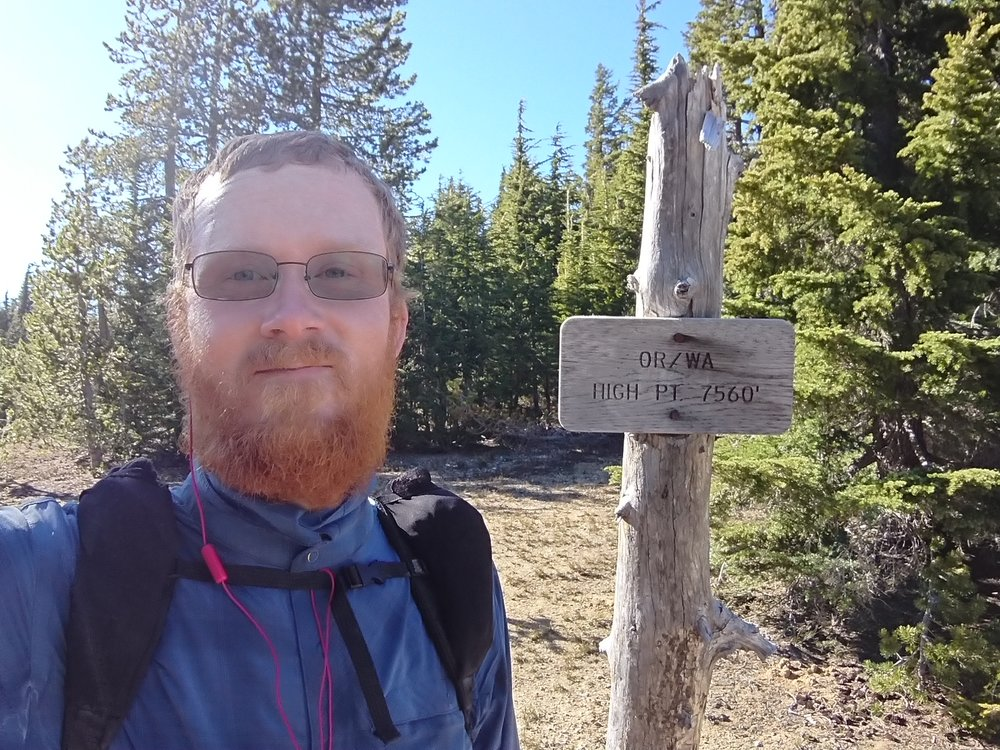 Highest point on the PCT in Oregon and Washington