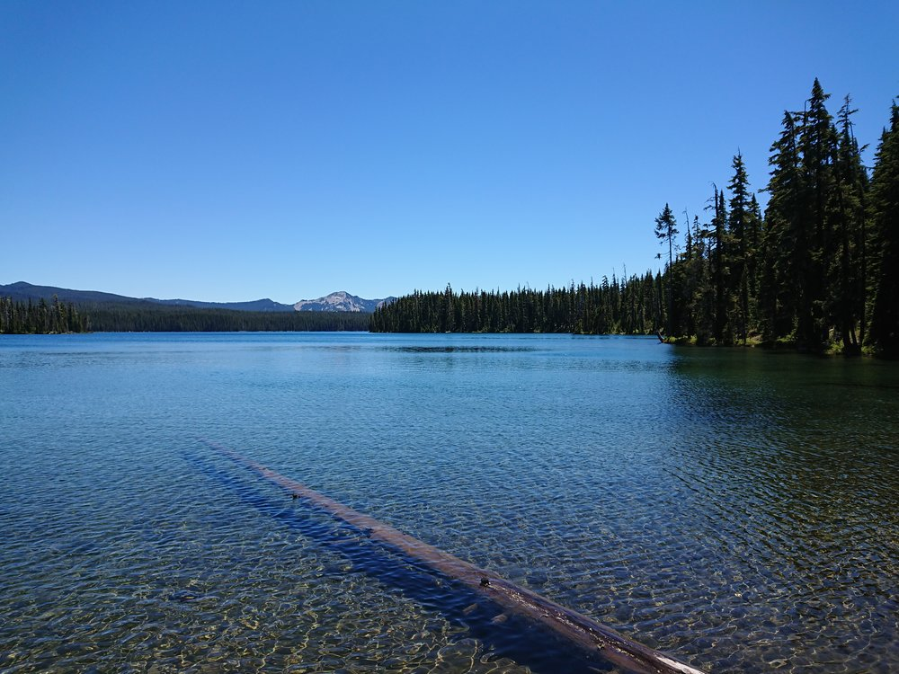 One of the many lakes