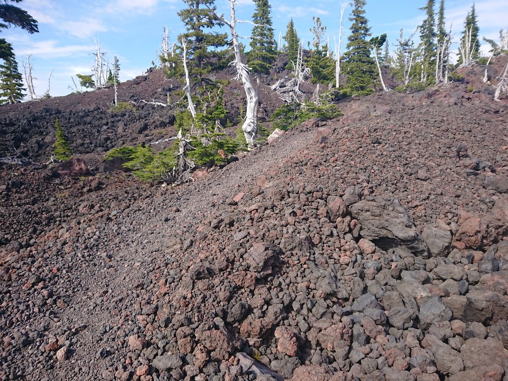 More lava fields today