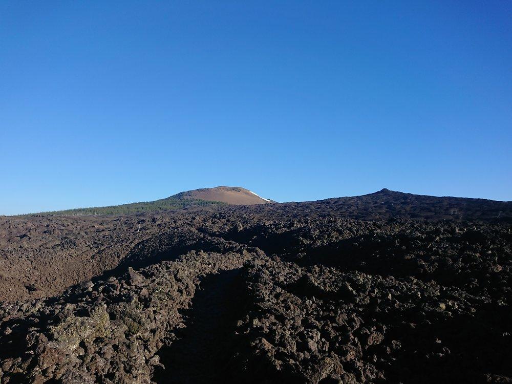 I had to cross a massive lava field today