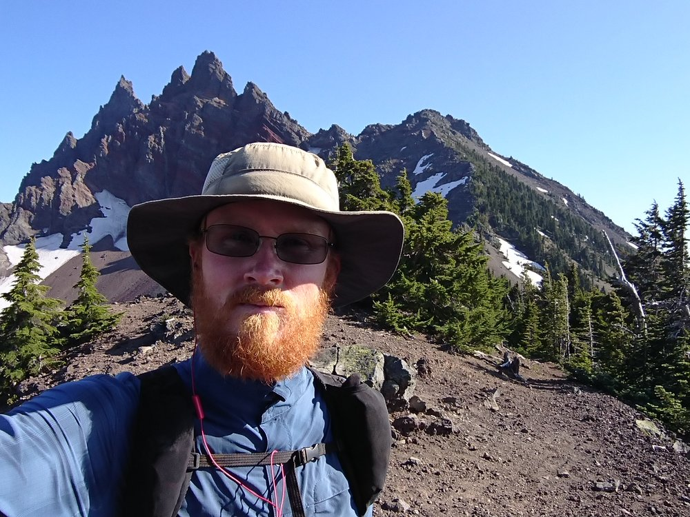 Selfie near Three Fingered Jack