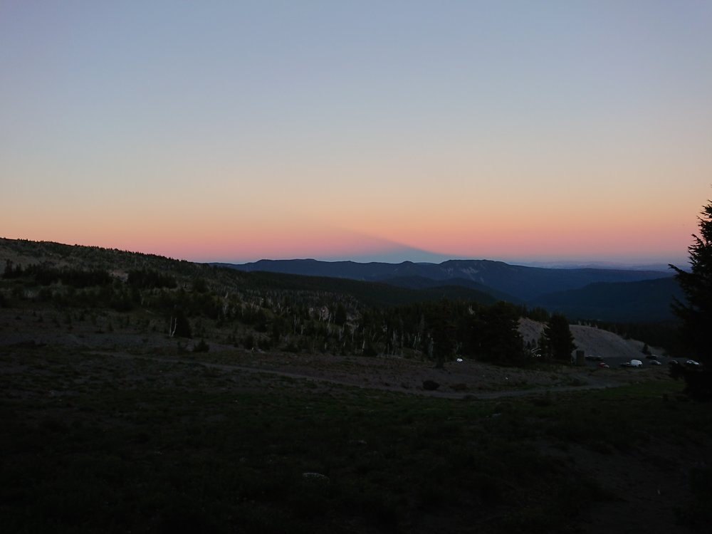 Nice sunset near Timberline Lodge