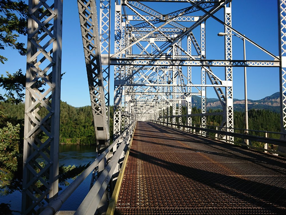On the Bridge of Gods
