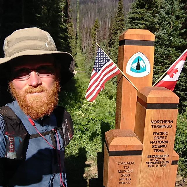 Yesterday I finished my thru-hike and got to see the new monument at the Northern Terminus.  Currently I am travelling back to my home and in that process I will travel many more miles than the length of the PCT and in about 24 hours. It is quite crazy to think about.  #pct #pct2018 #hiking #thruhike #thruhiking #thruhiker #backpacking #trekthepct #wehike #mexicotocanada #nature #liveoutdoors #pacificcresttrail