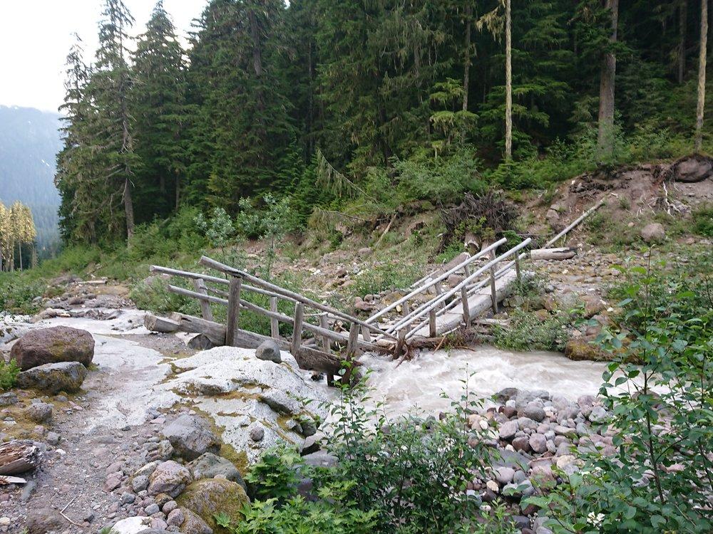 Bridge that has seen better days