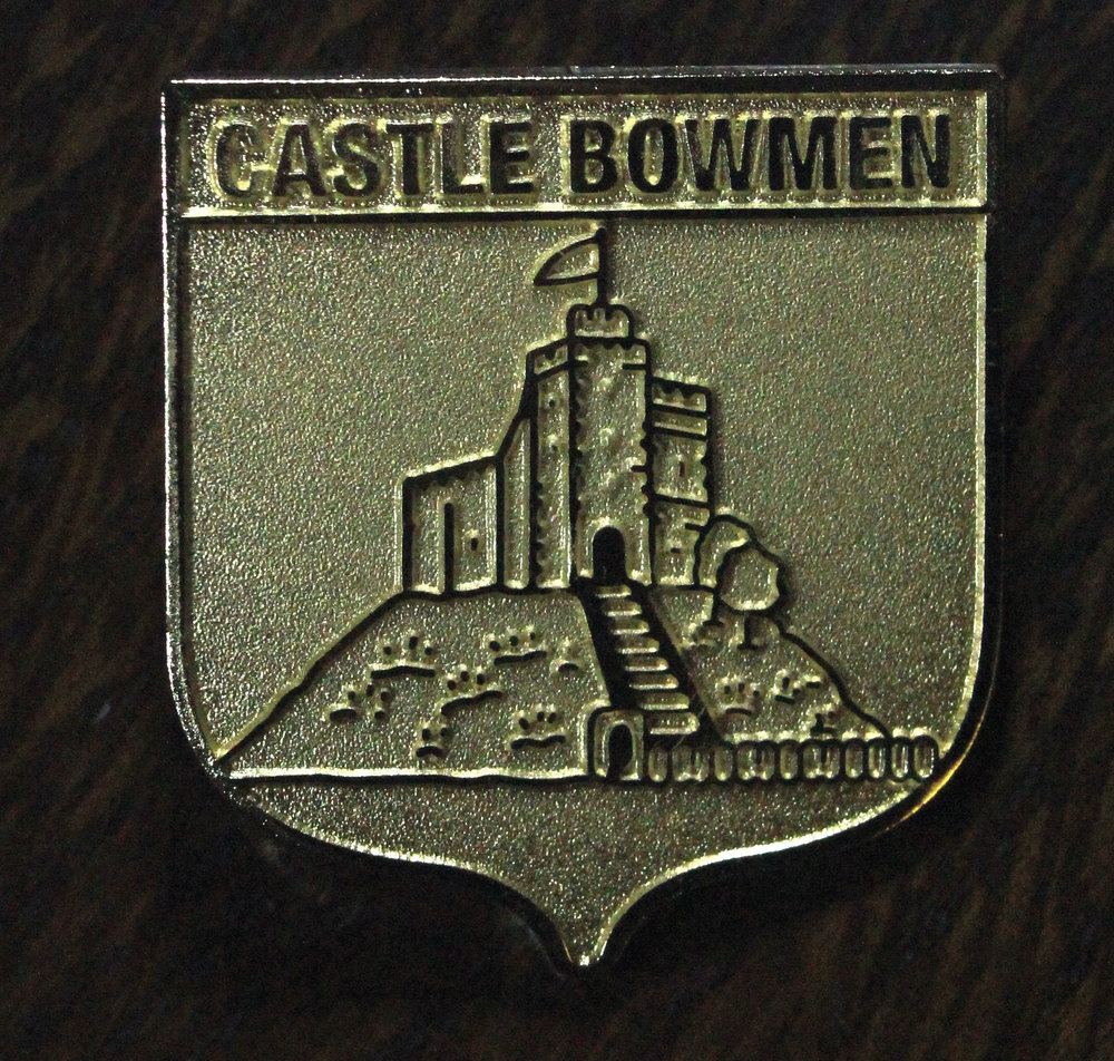 Castle Bowmen Club Member Badge  The first archery badge for your quiver