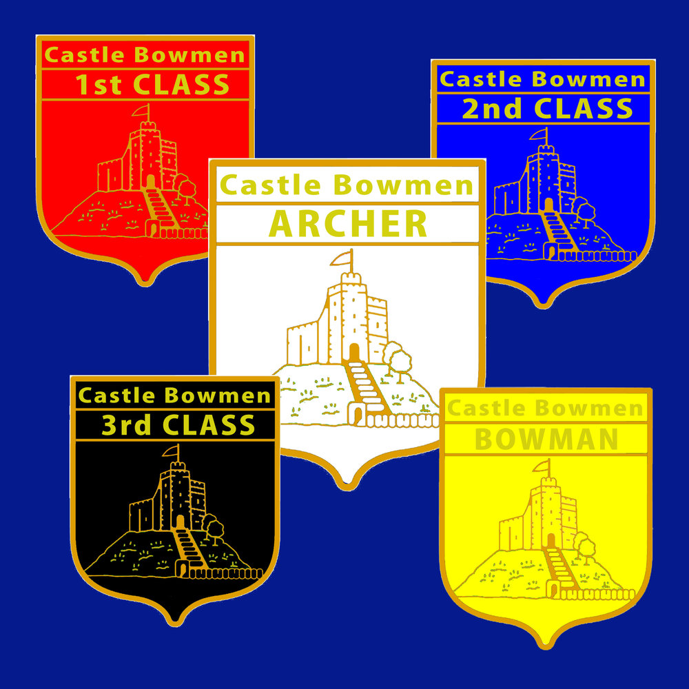 Archery Classification Badges   A badge for every level of experience.