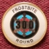 Badge for scoring 300 for the Frostbite round
