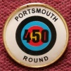 Badge for scoring 450 for the Portsmouth round