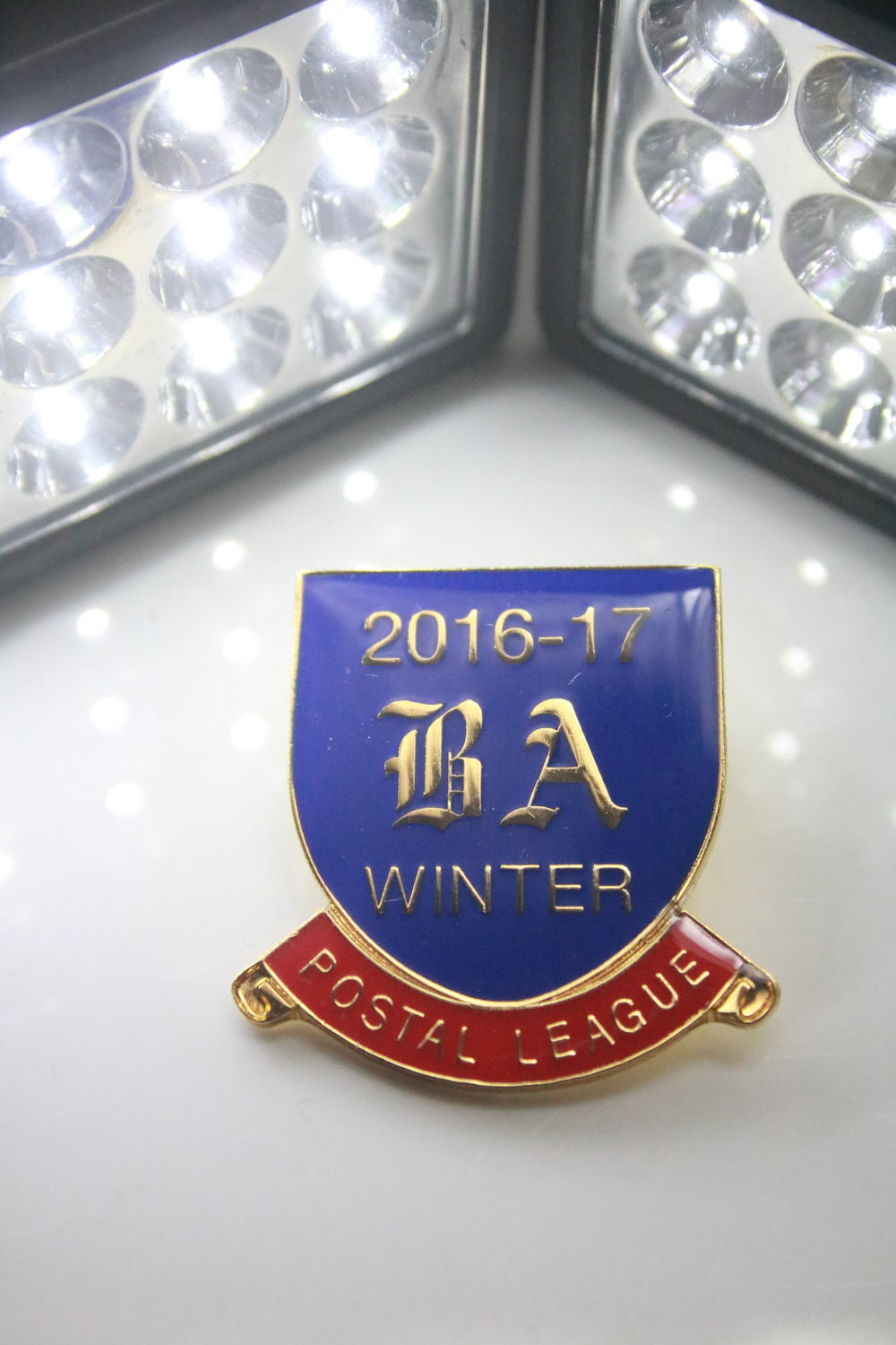 Division Winners Badge for the Outdoor Frostbite League