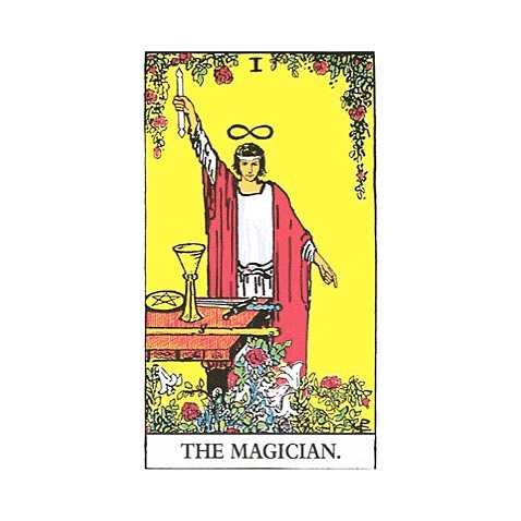 The Magician! Numbered 1 in the deck and talkin' about new beginnings. The Magician's appearing in a spread suggests resourcefulness, power, and inspiration. Tap into your full potential and set transformation into motion. ⭐️🍰
