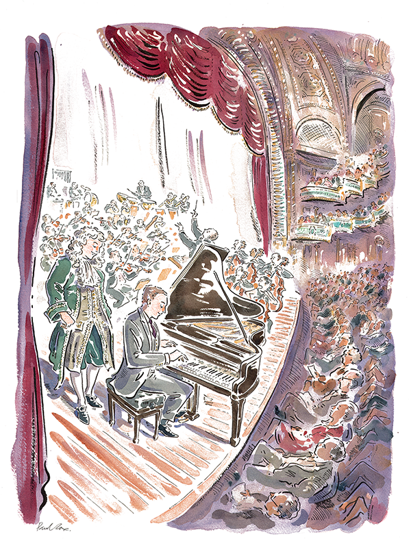 Paul Cox's interpretation of Rach and Bach playing at the Orpheum, November, 17th.