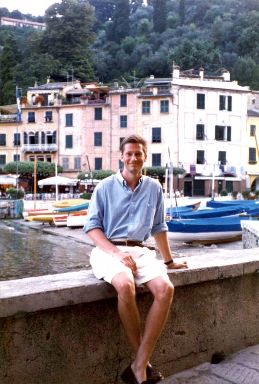 "QUINN MUSICIAN AND DOCTOR  Me in 1991 in Portofino, Italy - I was a second year resident at New York Hospital. I won first prize at the twenty-sixth annual International Piano Competition at the Giornate Musicali Festival in Italy. I played Beethoven's  ""Appassionata""  Sonata."