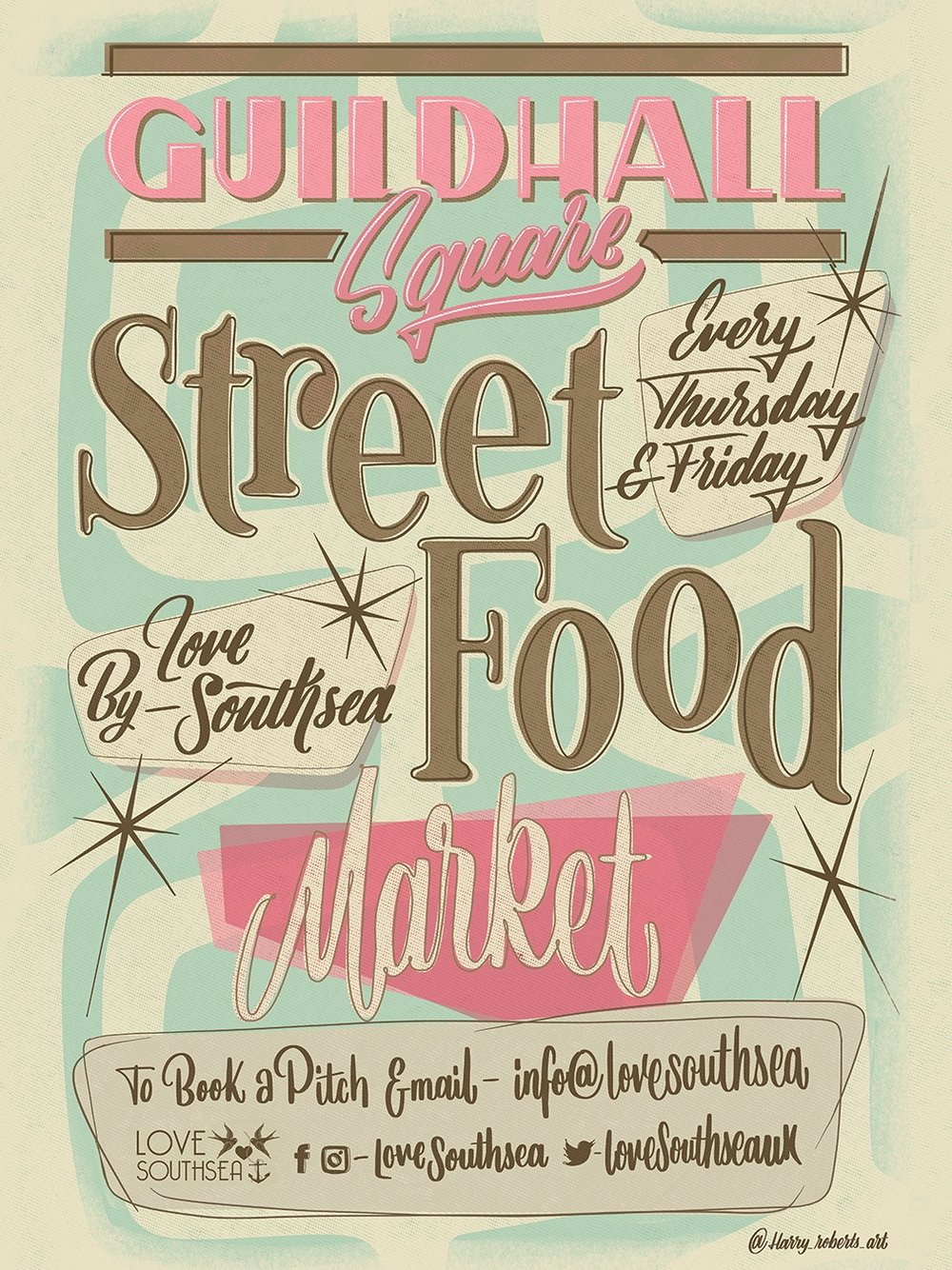 love southsea street food market guildhall square