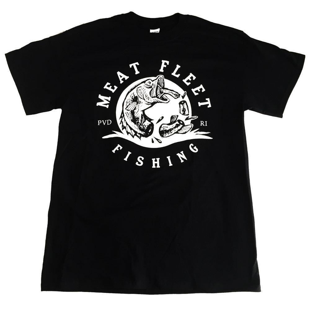 Meat Fleet Fishing Logo (T-Shirt) . Screen Print. 2017