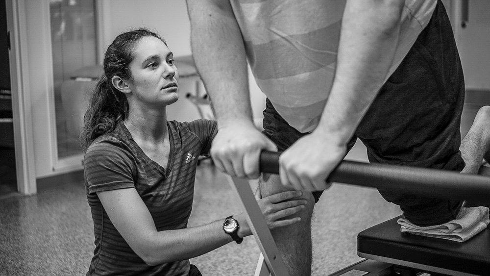 Sarah Granziol, Registered Kinesiologist,Pilates Instructor