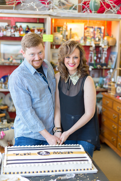 Jesse & Brittany Gibson - Owners, Hot Springs Flea Market