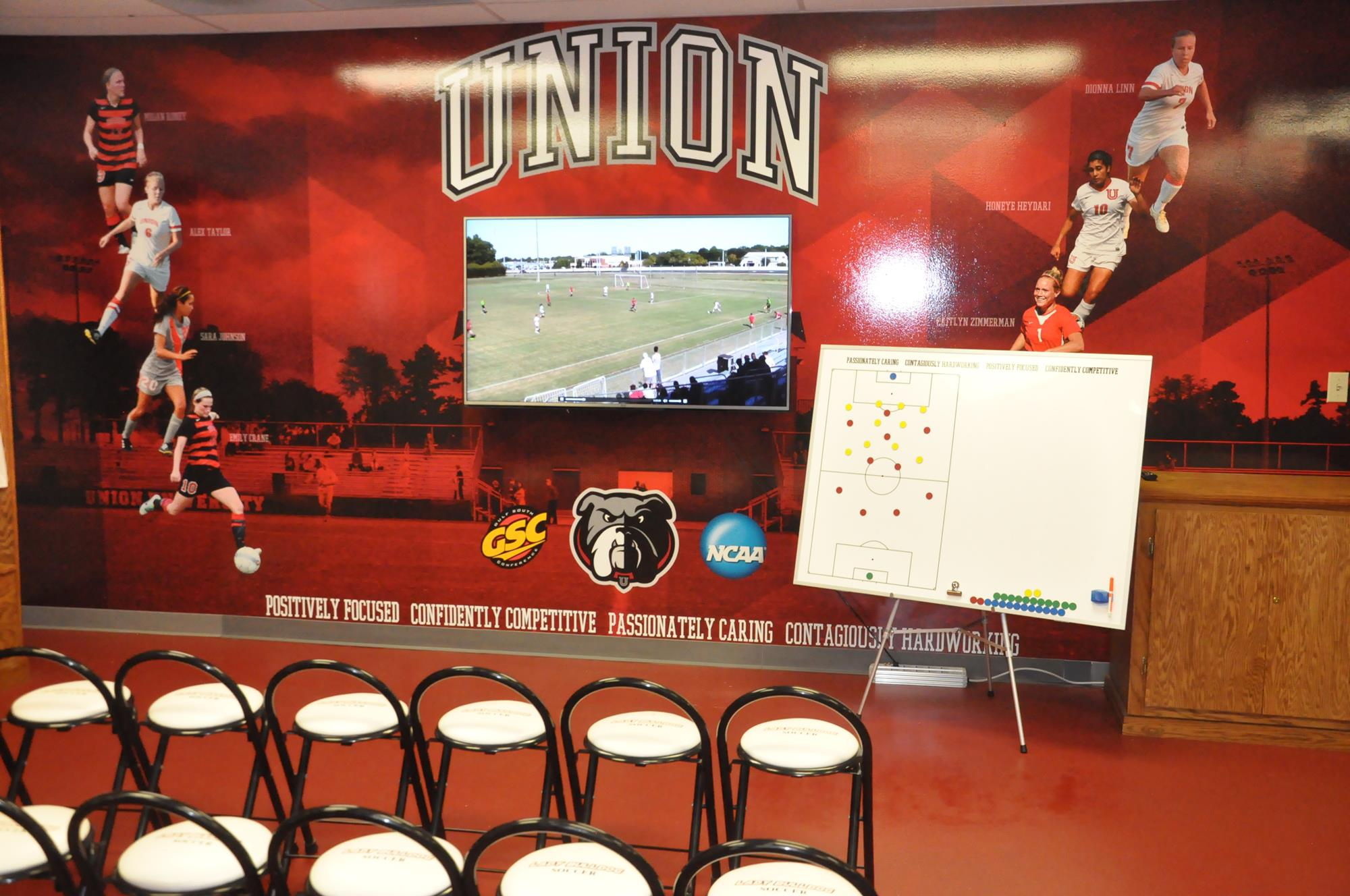 Union University Soccer Wall Murals Cody R Cunningham