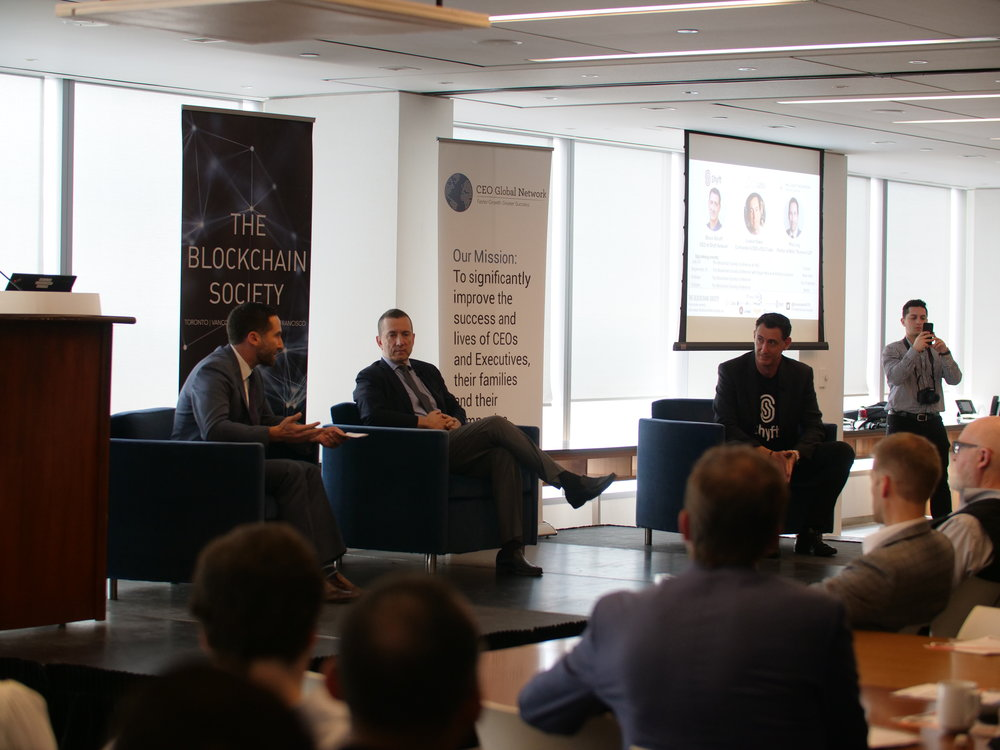 - The panelists expressed concern over tension between the stability of a widely distributed public blockchains with nodes holding all data, and private blockchains with fewer but trusted nodes holding data. The three also shared insights on how blockchain technology & applications built on blockchain could be protected from the biggest vulnerability, humans.