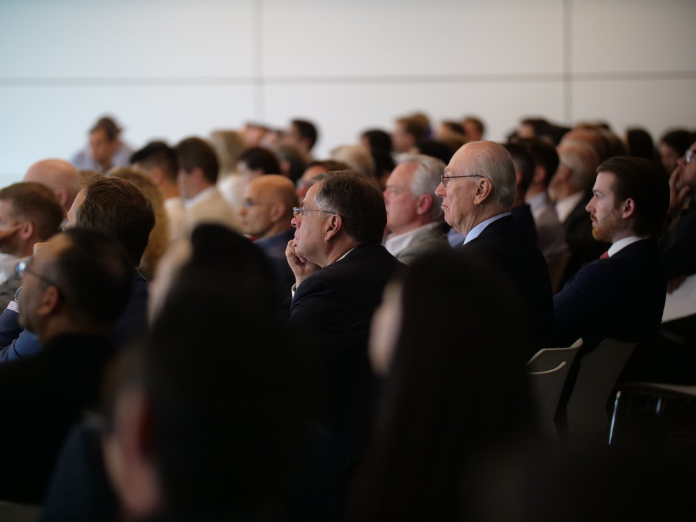 - With more than 185 tickets sold, the conference was a full house. Blockchain executives, investors and enterprise gathered for deal making and productive discussions about blockchain technology, its potential and impact on different industries.