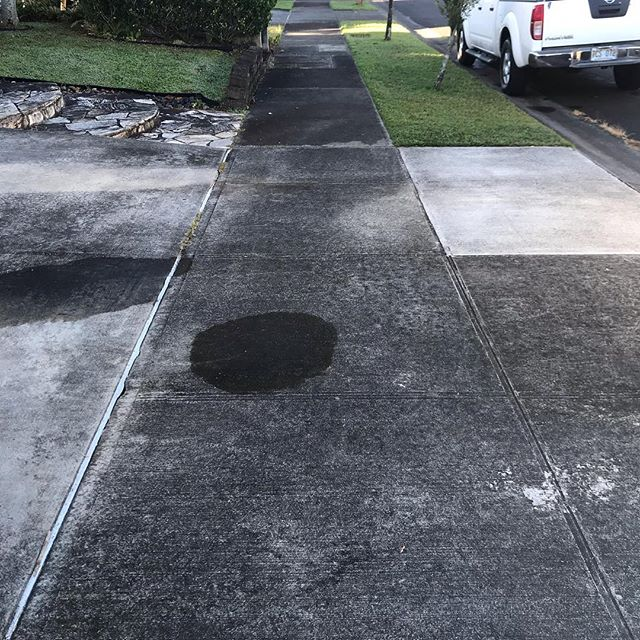 Swipe to clean ———-      . . .  #pressurewashing #powerwashing #pressurewasher #dewalt #carpetcleaning #upholstery cleaningh #homeimprovement #homeservices #cleaning services #oahu #hawaii #luckyweliveinhawaii #realtor #tbt #realestate #propertymanagement #curbappeal #concrete #grind #hustle #smallbusiness #smallbusinessowner #hawaii #oahu#cleaningservice #roofcleaning #oddlysatisfying