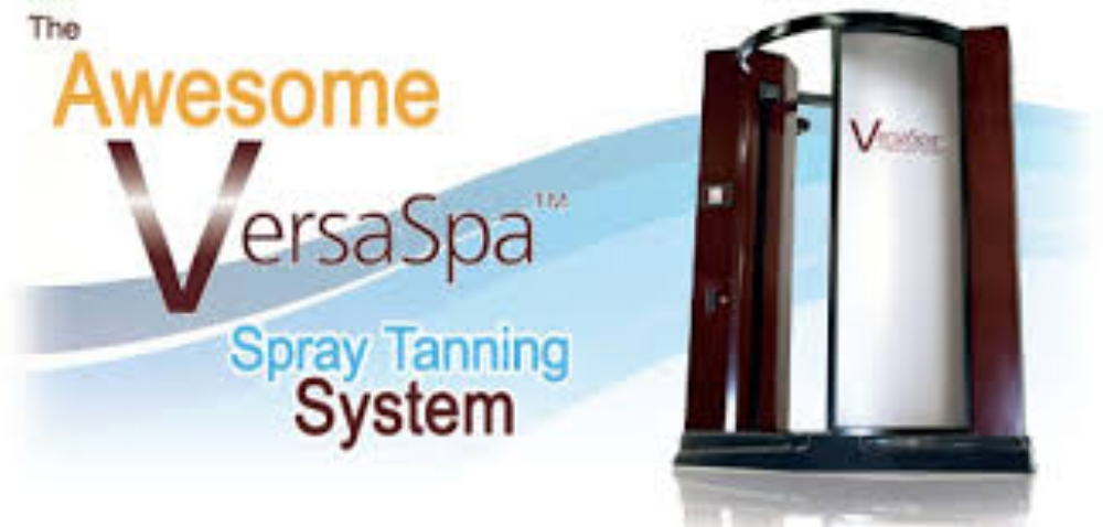 Versa Spa automated Spray booth with 2 bronze options a total of 6 different shades to fit your needs.