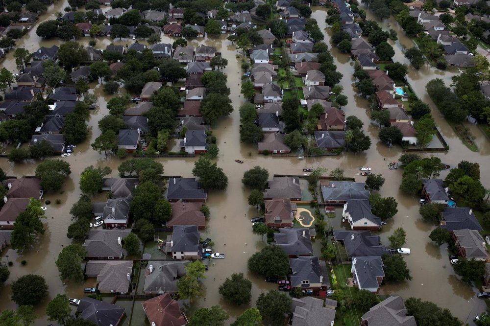 Hurricane Harvey in Houston, 2017 Courtesy: Greater Houston Community Foundation