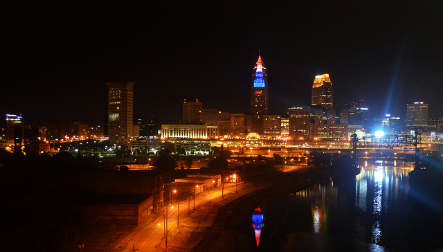 The Cleveland Foundation's investments in economic development, arts, and education have helped fuel major improvements to urban neighborhoods and the city's downtown. Flickr Creative Commons photo by  Erik Drost .