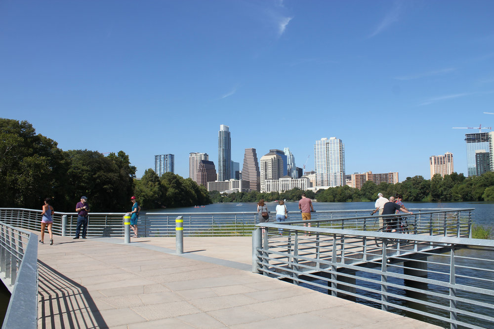 Austin Community Foundation donors are making a lasting impact in their community, funding efforts such as preserving the boardwalk at Lady Bird Lake. Photo courtesy of the Austin Community Foundation.