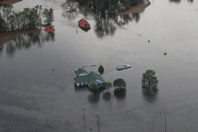 Community foundations throughout the Carolinas are leading ongoing relief efforts to help those affected earlier this year by Hurricane Florence. (U.S. Army National Guard Photo by Sgt. Devon Bistarkey)