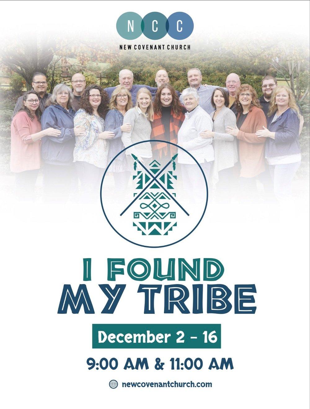 I Found My Tribe - New Covenant Church, North Carolina