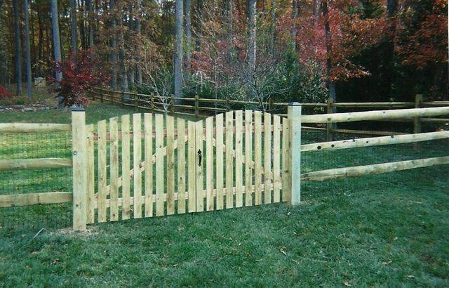 Split Rail with Double Gate